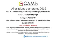 FHU CAMin - Allocations doctorales 2019