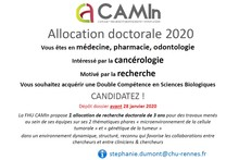 FHU CAMin - Allocations doctorales 2020